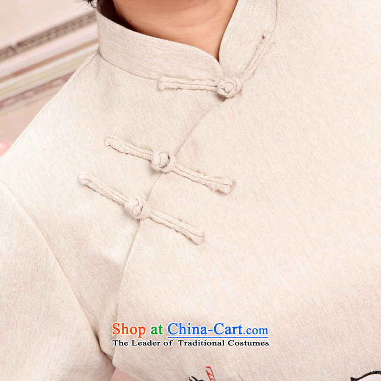 The optimized options in Shanghai Tang dynasty of older women and men's load spring and fall jacket couples long-sleeved shirt cotton linen pants kit men m White XXL kit picture, prices, brand platters! The elections are supplied in the national character of distribution, so action, buy now enjoy more preferential! As soon as possible.