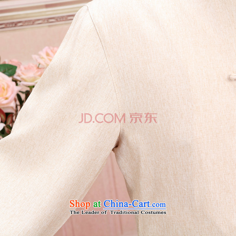 The optimized options in Shanghai Tang dynasty of older women and men's load spring and fall jacket couples long-sleeved shirt cotton linen pants kit men m White Kit , optimization options XXL, Shanghai , , , shopping on the Internet