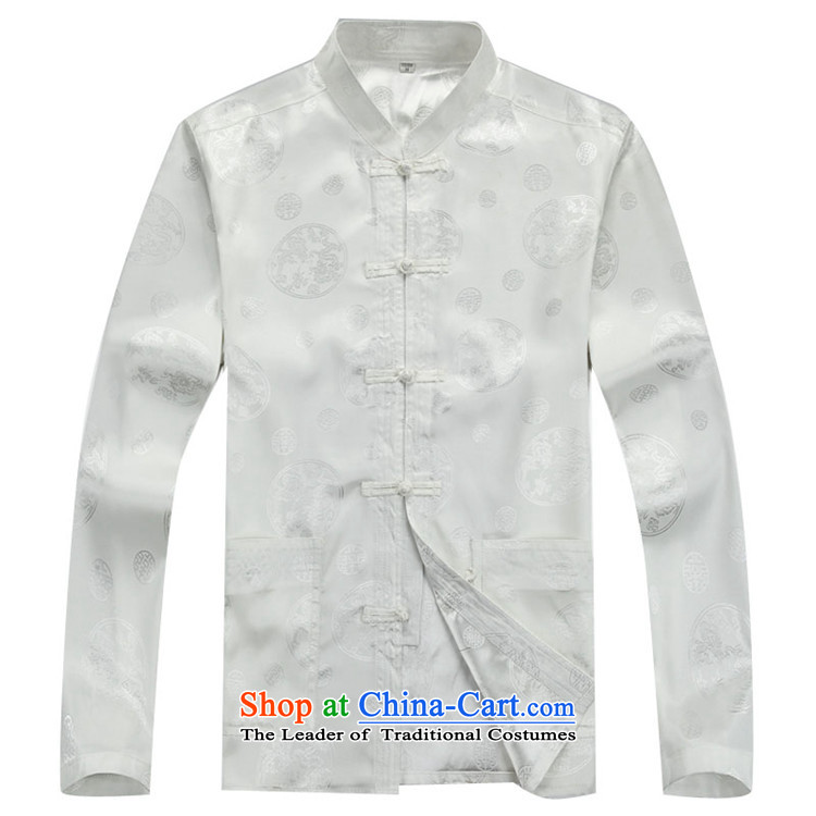 Hiv Rollet Men long-sleeved tang in the older bundle ethnic Han-men and White Kit XXXL picture, prices, brand platters! The elections are supplied in the national character of distribution, so action, buy now enjoy more preferential! As soon as possible.