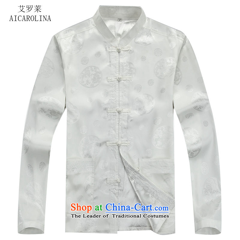 Hiv Rollet Men long-sleeved tang in the older bundle ethnic Han-men and White Kit聽XXXL, HIV ROLLET (AICAROLINA) , , , shopping on the Internet