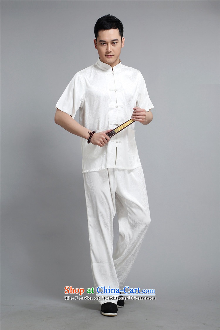 Rollet HIV from older men Mr Tang Dynasty Package for short-sleeved older men summer Chinese half sleeve male Tang replacing Light Gray聽L picture, prices, brand platters! The elections are supplied in the national character of distribution, so action, buy now enjoy more preferential! As soon as possible.