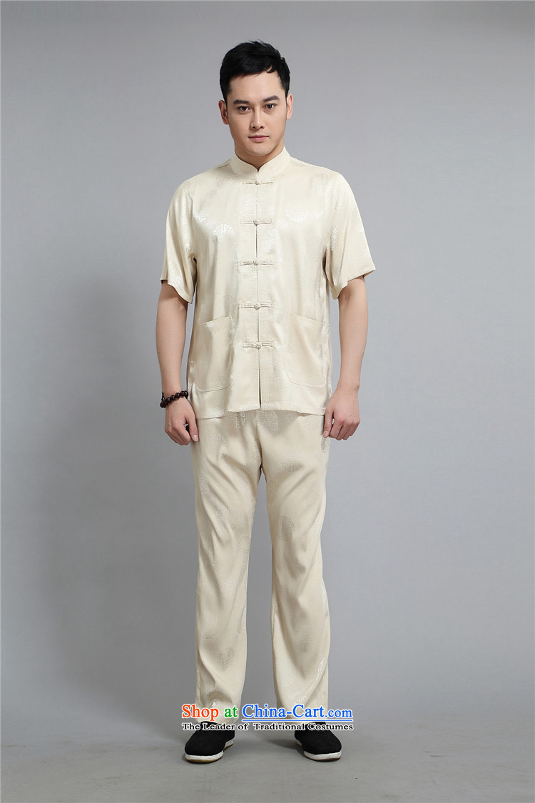 Hiv Rollet men Tang dynasty short-sleeved Han-xia men and boys Kit Tang Dynasty Chinese shirt loose white XL Photo, prices, brand platters! The elections are supplied in the national character of distribution, so action, buy now enjoy more preferential! As soon as possible.