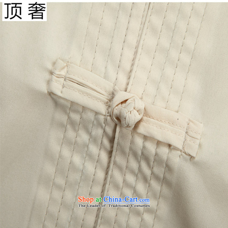 Top Luxury men Tang Dynasty Package Short-Sleeve Men of older persons in the new summer load Tang Tang dynasty short-sleeved T-shirt and summer national costumes and China wind shirt Short-Sleeve Men Red Kit Plustop 185 Yi pants luxury shopping on the In