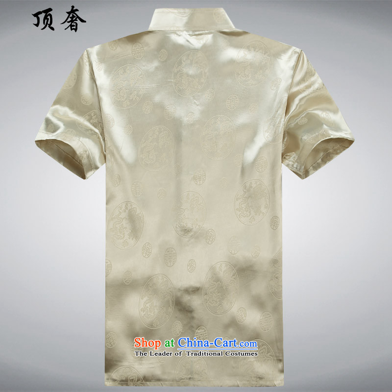 Top Luxury聽2015 new festive men short-sleeved blouses Tang Tang dynasty leisure and business men and short-sleeved summer Dark Blue Men's Mock-Neck China wind Han-Dark Blue Kit聽170, the top luxury shopping on the Internet has been pressed.