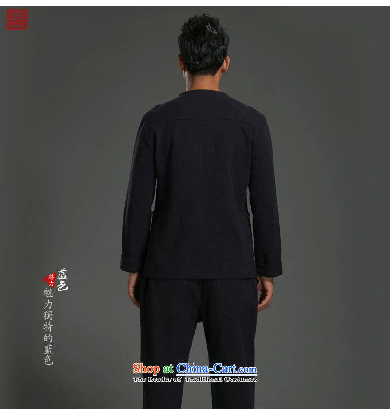 Renowned China wind ma disk load autumn shirt clip New retro men's Sau San ethnic linen long-sleeved shirt wine red giant (2XL) picture, prices, brand platters! The elections are supplied in the national character of distribution, so action, buy now enjoy more preferential! As soon as possible.
