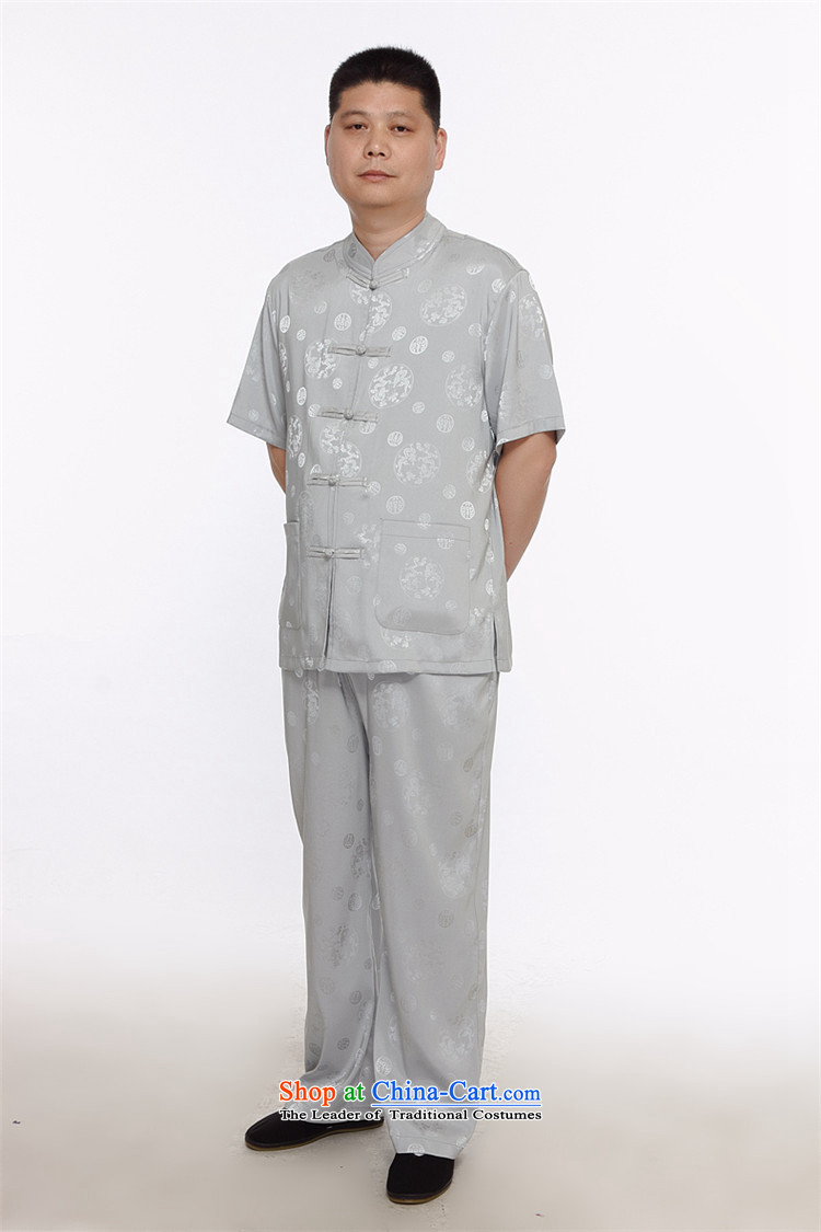 Rollet HIV from older men Tang Kit Casual relaxd father replacing middle-aged Short-sleeve men wearing white聽M national picture, prices, brand platters! The elections are supplied in the national character of distribution, so action, buy now enjoy more preferential! As soon as possible.