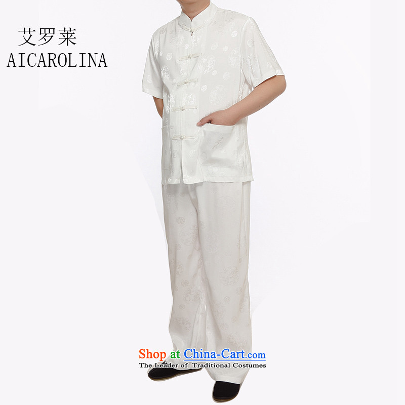 Rollet HIV from older men Tang Kit Casual relaxd father replacing middle-aged Short-Sleeve Men national costumes White聽M, HIV (AICAROLINA ROLLET) , , , shopping on the Internet