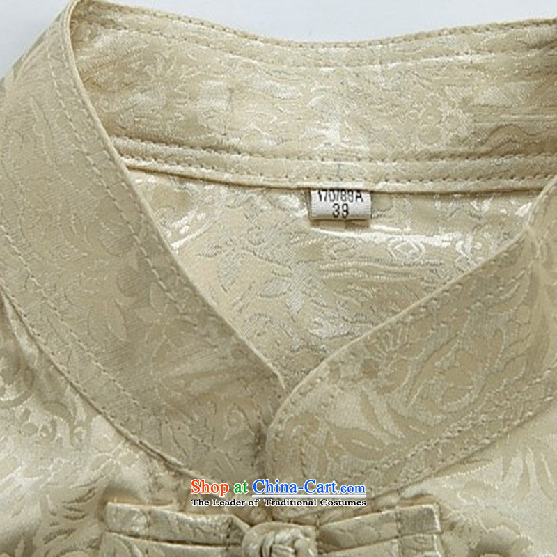 Rollet father load HIV summer men Tang Dynasty Package for short-sleeved older along the River During the Qingming Festival  Tang Dynasty Chinese White Kit聽180/XL, HIV ROLLET (AICAROLINA) , , , shopping on the Internet