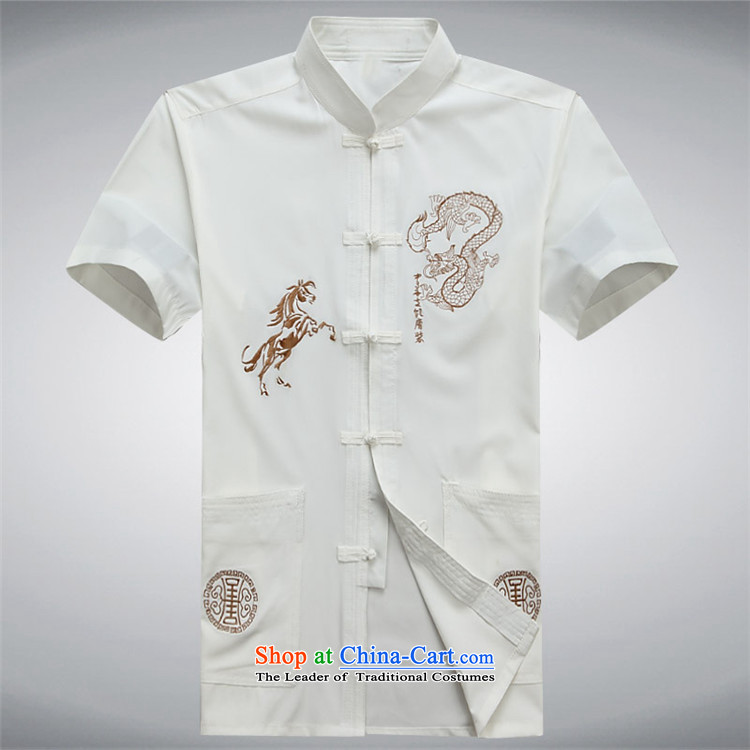 Hiv Rollet summer middle-aged men Tang dynasty short-sleeved shirt, older men's shirt for summer red T-shirt L picture, prices, brand platters! The elections are supplied in the national character of distribution, so action, buy now enjoy more preferential! As soon as possible.