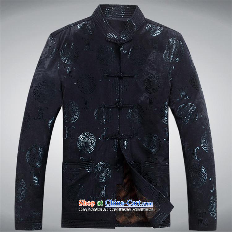 Hiv Rollet 2015 Tang dynasty collar middle-aged men's shirt ethnic Grandpa Male Red聽XXXL picture, prices, brand platters! The elections are supplied in the national character of distribution, so action, buy now enjoy more preferential! As soon as possible.