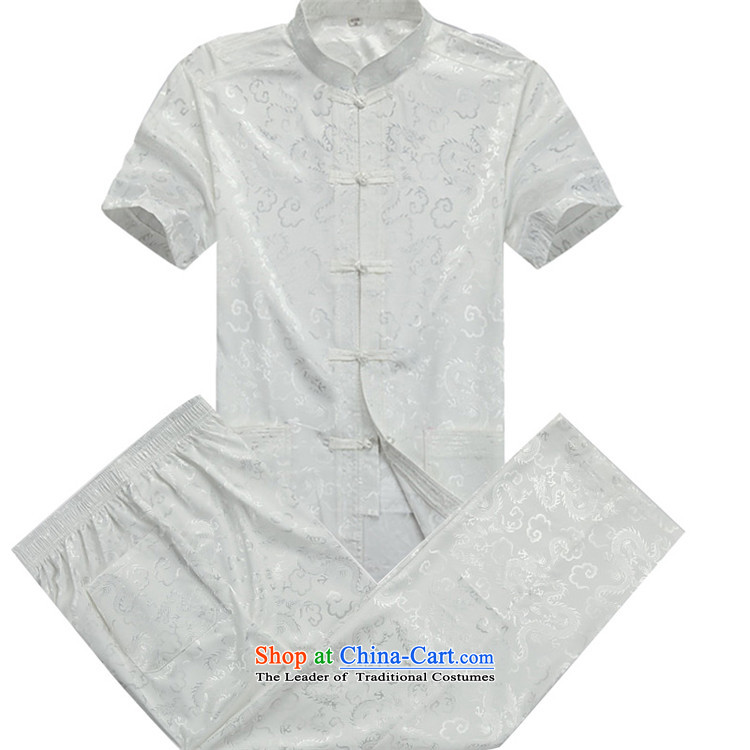 Beijing OSCE summer short-sleeved package for older men Tang Dynasty Package Tang Dynasty Short-Sleeve Men beige kit聽S picture, prices, brand platters! The elections are supplied in the national character of distribution, so action, buy now enjoy more preferential! As soon as possible.