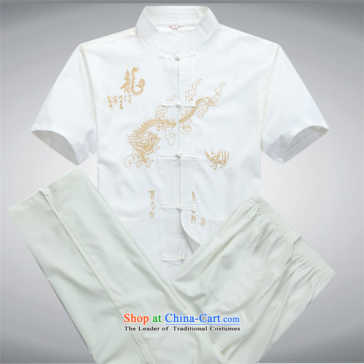 Beijing OSCE men's short-sleeved in Tang Dynasty older summer older persons summer China wind Tai Lung Men Tang Dynasty Package beige kit聽XXL picture, prices, brand platters! The elections are supplied in the national character of distribution, so action, buy now enjoy more preferential! As soon as possible.