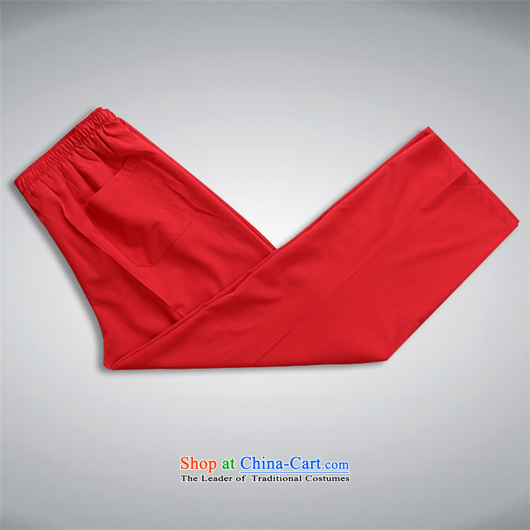Kanaguri Mouse Tang dynasty China wind and long-sleeved Tang Dynasty Package for summer package men t-shirt Chinese men red kitXXXL picture, prices, brand platters! The elections are supplied in the national character of distribution, so action, buy now enjoy more preferential! As soon as possible.