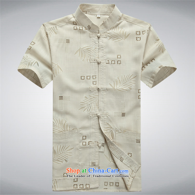 Hiv Rollet China wind Mock-Neck Shirt clip retro-Tang dynasty MEN'S NATIONAL wind short-sleeved shirt with white XXL picture, prices, brand platters! The elections are supplied in the national character of distribution, so action, buy now enjoy more preferential! As soon as possible.