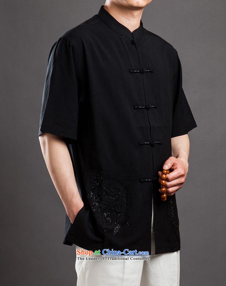 Azzu (azouari) defense men short-sleeved Tang Dynasty Chinese Disc detained Men's Mock-Neck beige聽44 pictures, prices, brand platters! The elections are supplied in the national character of distribution, so action, buy now enjoy more preferential! As soon as possible.