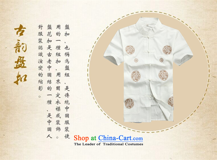 Hiv Rollet summer men Tang Dynasty Package in the summer of older men in spring and autumn Tang dynasty boxed long-sleeved national costumes Chinese grandfather boxed kit聽S picture beige, prices, brand platters! The elections are supplied in the national character of distribution, so action, buy now enjoy more preferential! As soon as possible.