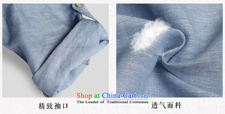 Renowned Chinese China wind men Han-Tang dynasty men men's short-sleeved gray175(XL) summer picture, prices, brand platters! The elections are supplied in the national character of distribution, so action, buy now enjoy more preferential! As soon as possible.