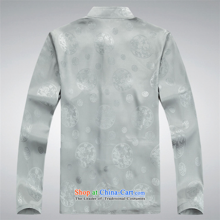 Kanaguri mouse in spring and summer men Tang Dynasty Package of older persons in long-sleeved China wind men Tang Dynasty Chinese white shirt聽XXXL picture, prices, brand platters! The elections are supplied in the national character of distribution, so action, buy now enjoy more preferential! As soon as possible.