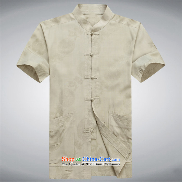 Rollet HIV Tang dynasty in the number of older men and short-sleeved shirt older older persons Summer Package Boxed men dad grandpa blouses blue聽XXL picture, prices, brand platters! The elections are supplied in the national character of distribution, so action, buy now enjoy more preferential! As soon as possible.