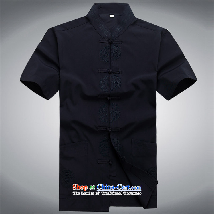 Kanaguri mouse in Tang Dynasty older men and short-sleeved shirt older older persons Summer Package blue kit聽M picture, prices, brand platters! The elections are supplied in the national character of distribution, so action, buy now enjoy more preferential! As soon as possible.