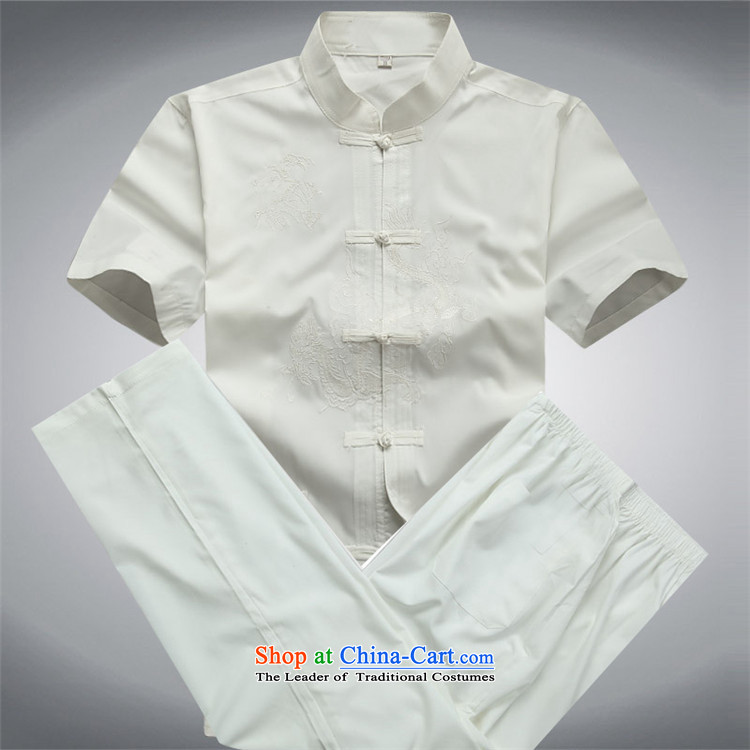 Beijing elderly men in europe Tang Dynasty Chinese short-sleeved shirt men Mr Ronald Tang dynasty China wind loose half-sleeved shirt dark blue T-shirt XL Photo, prices, brand platters! The elections are supplied in the national character of distribution, so action, buy now enjoy more preferential! As soon as possible.