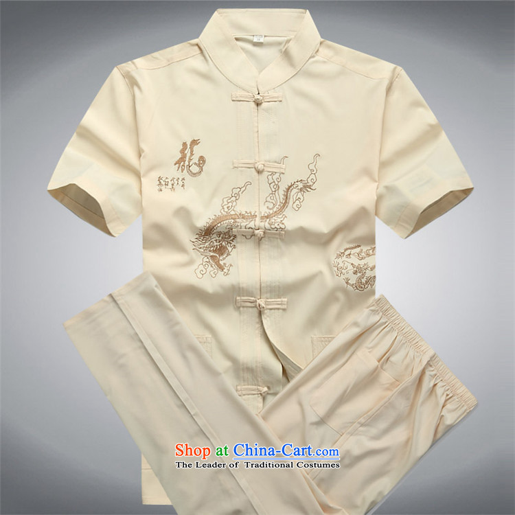 Beijing OSCE men's short-sleeved in Tang Dynasty older summer older persons summer China wind men Tang Dynasty Package White Kit聽L picture, prices, brand platters! The elections are supplied in the national character of distribution, so action, buy now enjoy more preferential! As soon as possible.