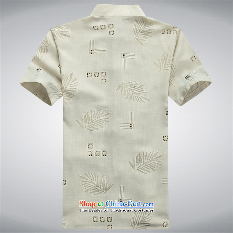 Rollet HIV Tang dynasty in the number of older men and short-sleeved shirt older older persons summer load men dad grandpa blouses beige聽XXXL picture, prices, brand platters! The elections are supplied in the national character of distribution, so action, buy now enjoy more preferential! As soon as possible.