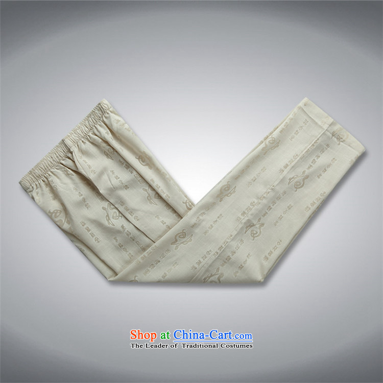 Rollet HIV from older men Tang dynasty summer short-sleeved T-shirt large retro-Tang dynasty men detained short-sleeve kit beige Kit聽L picture, prices, brand platters! The elections are supplied in the national character of distribution, so action, buy now enjoy more preferential! As soon as possible.