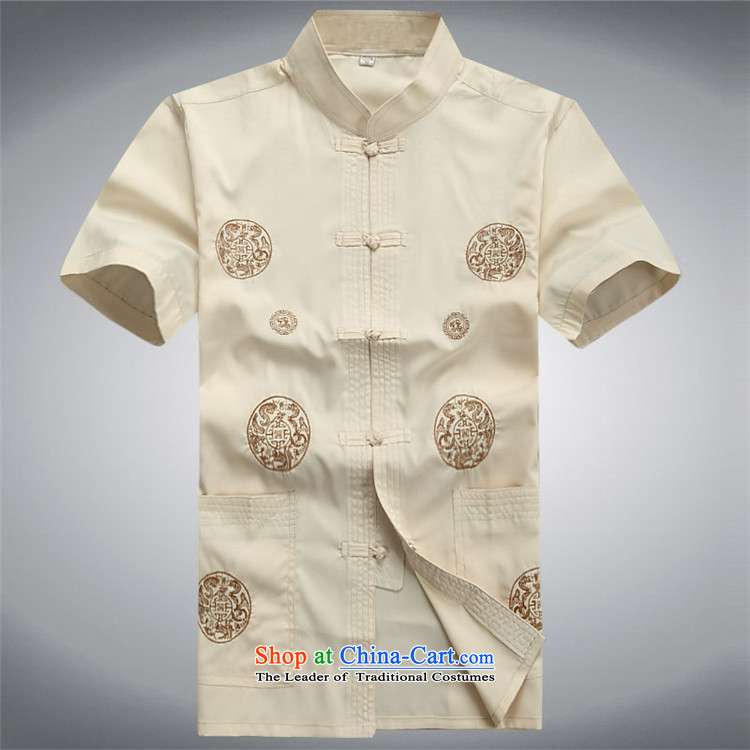 Kanaguri mouse in older men short-sleeved Tang Dynasty Package Xia men of Chinese national costumes grandpa red kit聽S picture, prices, brand platters! The elections are supplied in the national character of distribution, so action, buy now enjoy more preferential! As soon as possible.