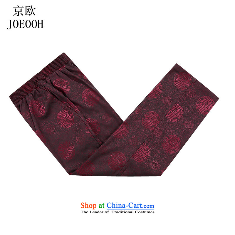 Beijing New Europe China wind of older persons in the Millennium thick elastic waist Tang pants and men casual pants and comfortable red聽XXXL, Putin (JOE OOH) , , , shopping on the Internet