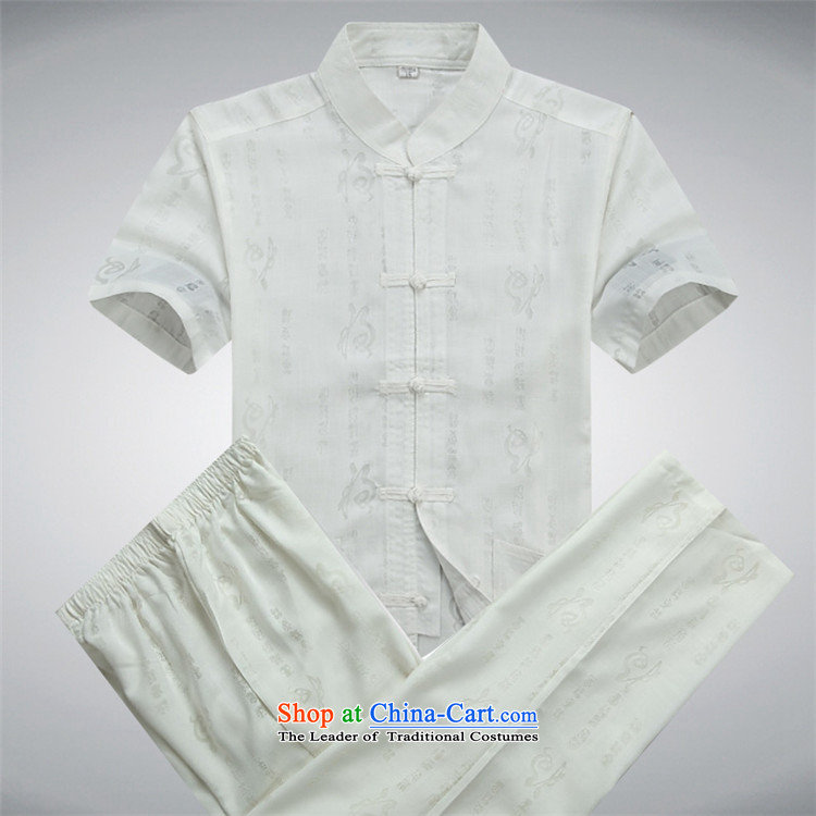 Kanaguri mouse summer new Tang dynasty and Tang dynasty cotton linen short-sleeved Tang dynasty male short-sleeved older people kit beige Kit聽L picture, prices, brand platters! The elections are supplied in the national character of distribution, so action, buy now enjoy more preferential! As soon as possible.