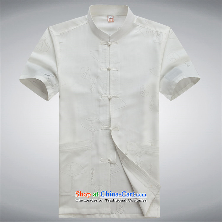 Kanaguri mouse in Tang Dynasty older men and short-sleeved shirt of older persons a grandfather older men with father blouses white S picture, prices, brand platters! The elections are supplied in the national character of distribution, so action, buy now enjoy more preferential! As soon as possible.