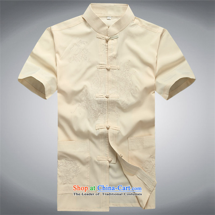 Hiv Rollet 2015 Summer Package short-sleeved Tang dynasty in older men's China wind men's Tang dynasty white Kit聽L picture, prices, brand platters! The elections are supplied in the national character of distribution, so action, buy now enjoy more preferential! As soon as possible.