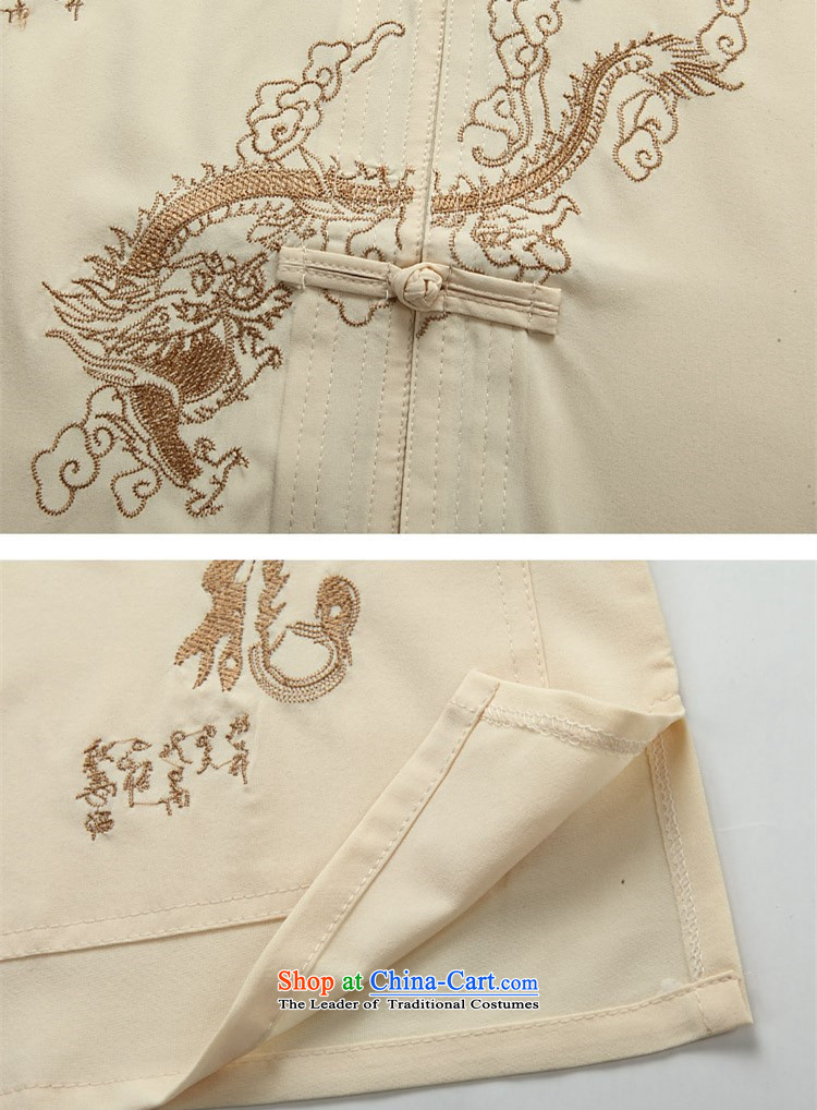 Hiv Rollet men Tang Dynasty Package summer shirts men short-sleeved leisure China wind summer beige jacketXXXL picture, prices, brand platters! The elections are supplied in the national character of distribution, so action, buy now enjoy more preferential! As soon as possible.