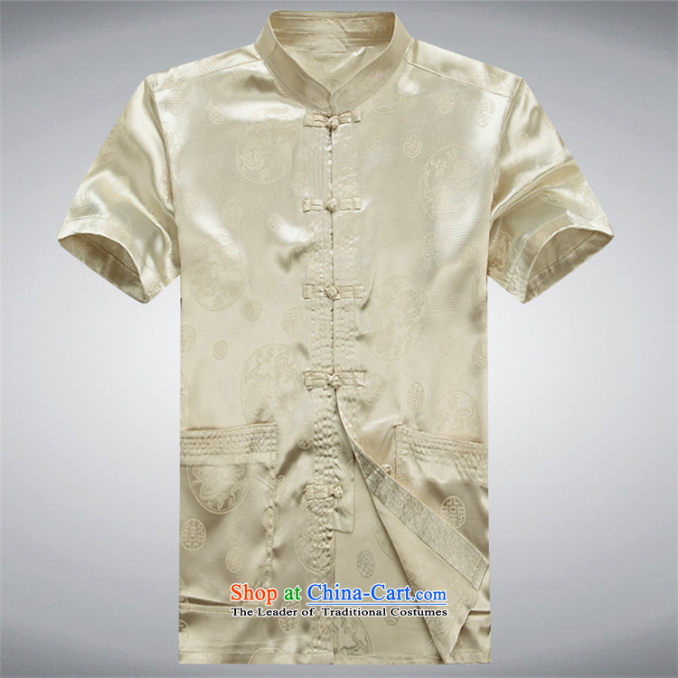 Kanaguri mouse men Tang Dynasty Package for older men and summer short-sleeve kit national costumes China wind loading white kit father聽XXL picture, prices, brand platters! The elections are supplied in the national character of distribution, so action, buy now enjoy more preferential! As soon as possible.