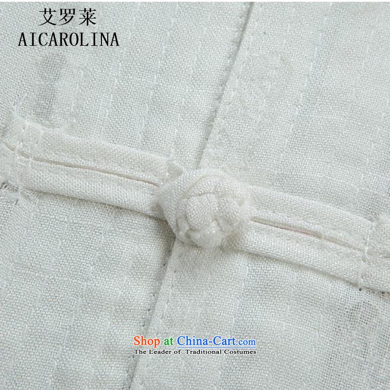 Hiv Rollet summer middle-aged men of the Tang Dynasty Field Kit short-sleeved older Men's Shirt summer beige Kit聽, L, HIV (AICAROLINA ROLLET) , , , shopping on the Internet