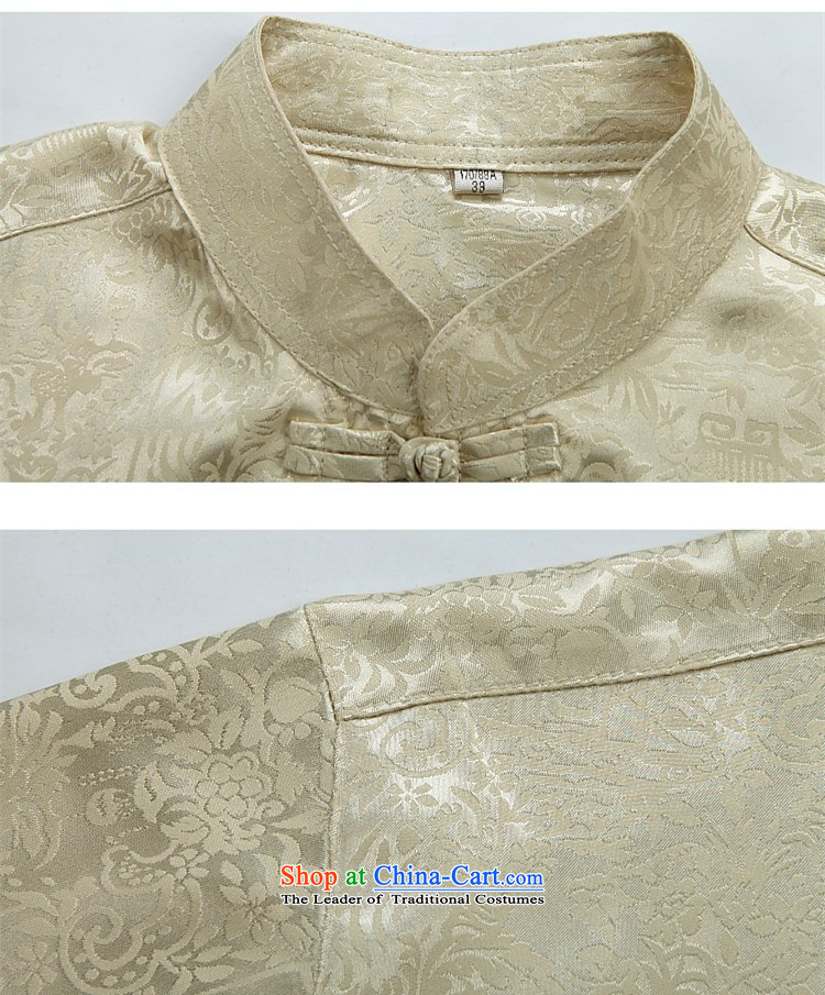 Hiv Rollet summer half sleeve Tang dynasty men Tang dynasty male short-sleeved T-shirt collar Kit Chinese China wind red kit聽XXXL picture, prices, brand platters! The elections are supplied in the national character of distribution, so action, buy now enjoy more preferential! As soon as possible.