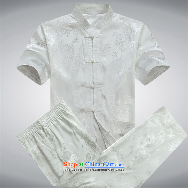 The elderly in the OSCE Kyung Tang dynasty male short-sleeve packaged new summer, older men Tang Dynasty Package of older persons Tang dynasty blue trousers summer birthday聽XXL picture, prices, brand platters! The elections are supplied in the national character of distribution, so action, buy now enjoy more preferential! As soon as possible.