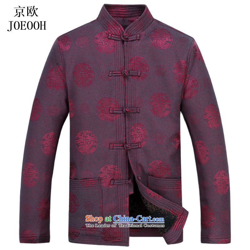 Beijing Europe China wind in national older men Tang dynasty older persons Tang Dynasty Chinese men during the spring and autumn men's Red聽M, Putin (JOE OOH) , , , shopping on the Internet