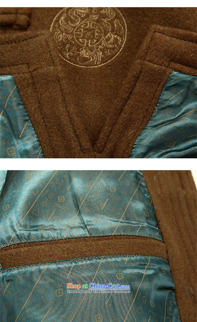 Hiv Rollet men Tang dynasty China wind up detained Men's Mock-Neck spring loaded in the spring and autumn long-sleeved Tang older men's jackets and Yellow聽XL Photo, prices, brand platters! The elections are supplied in the national character of distribution, so action, buy now enjoy more preferential! As soon as possible.