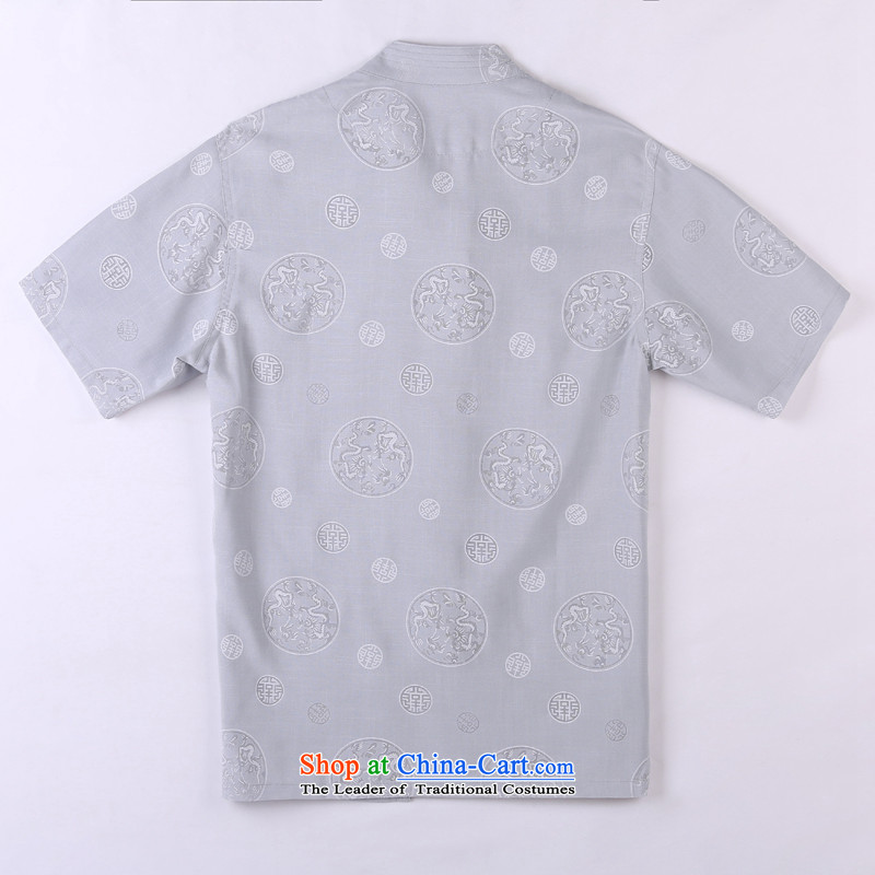 Whig Po 2015 Summer New Products T-shirt linen china wind cool breathability wicking short-sleeved T-shirt men Tang dynasty in older聽6聽gray聽XXL, Tang federal core Chai Lang , , , shopping on the Internet