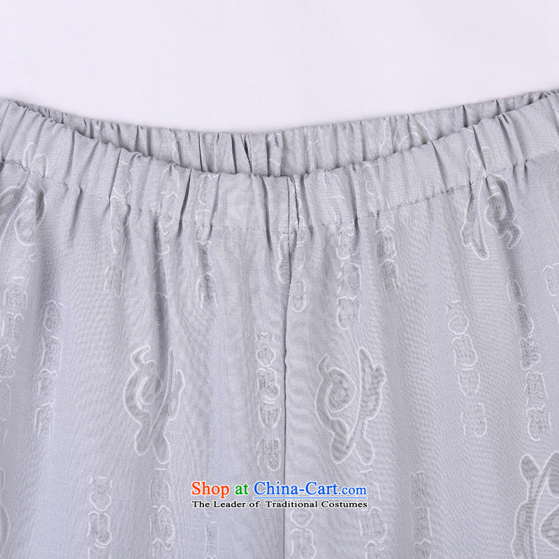 2015 Spring/Summer load new products from Vigers Po Tang dynasty China Wind Pants in older Tang pants 10 Gray聽XXXL(56), federal core Chai Lang , , , shopping on the Internet