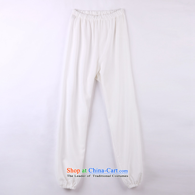 2015 Spring_Summer load new products from Vigers Po Tang dynasty China Wind Pants in older Tang pants and white聽XL_52_ 12