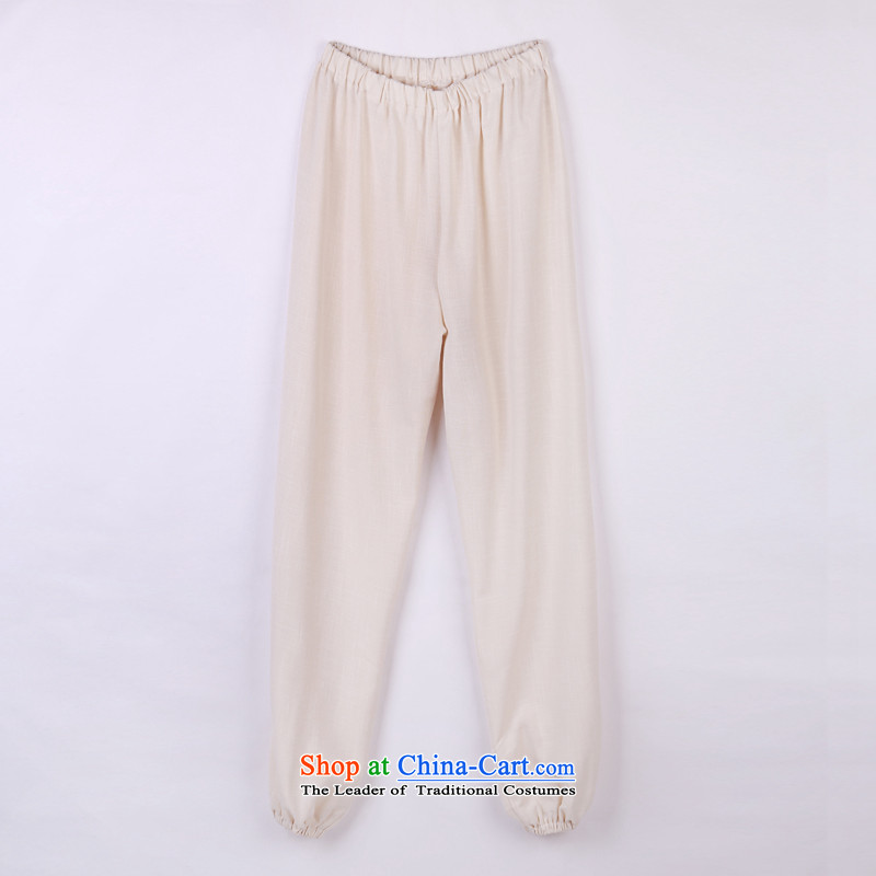 2015 Spring_Summer load new products from Vigers Po Tang dynasty China Wind Pants in older Tang pants 13 flesh燲L_52_