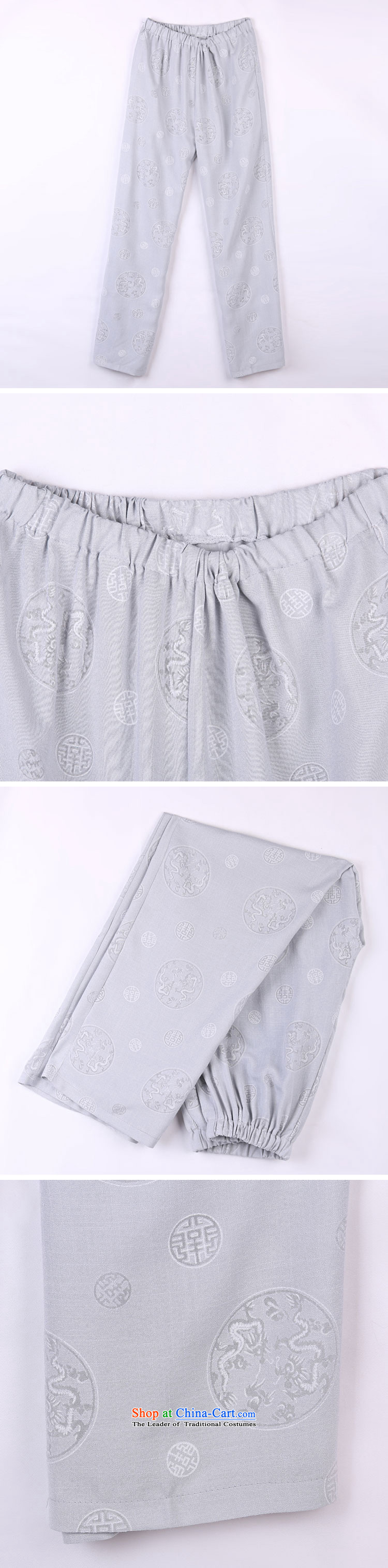 2015 Spring/Summer load new products from Vigers Po Tang dynasty China Wind Pants in older Tang pants 17 Gray聽L(50) picture, prices, brand platters! The elections are supplied in the national character of distribution, so action, buy now enjoy more preferential! As soon as possible.