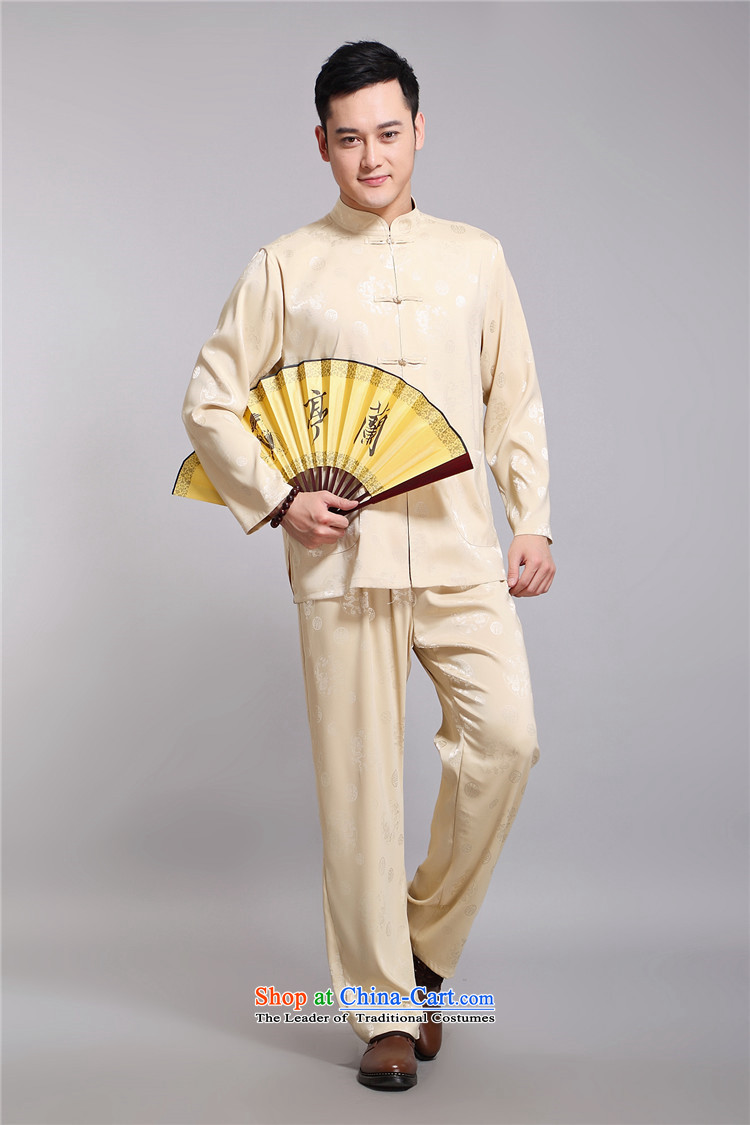 Hiv Rollet 2015 New Tang dynasty and long-sleeved Kit Chinese men in China wind Tang Dynasty Package older聽XXXL white picture, prices, brand platters! The elections are supplied in the national character of distribution, so action, buy now enjoy more preferential! As soon as possible.