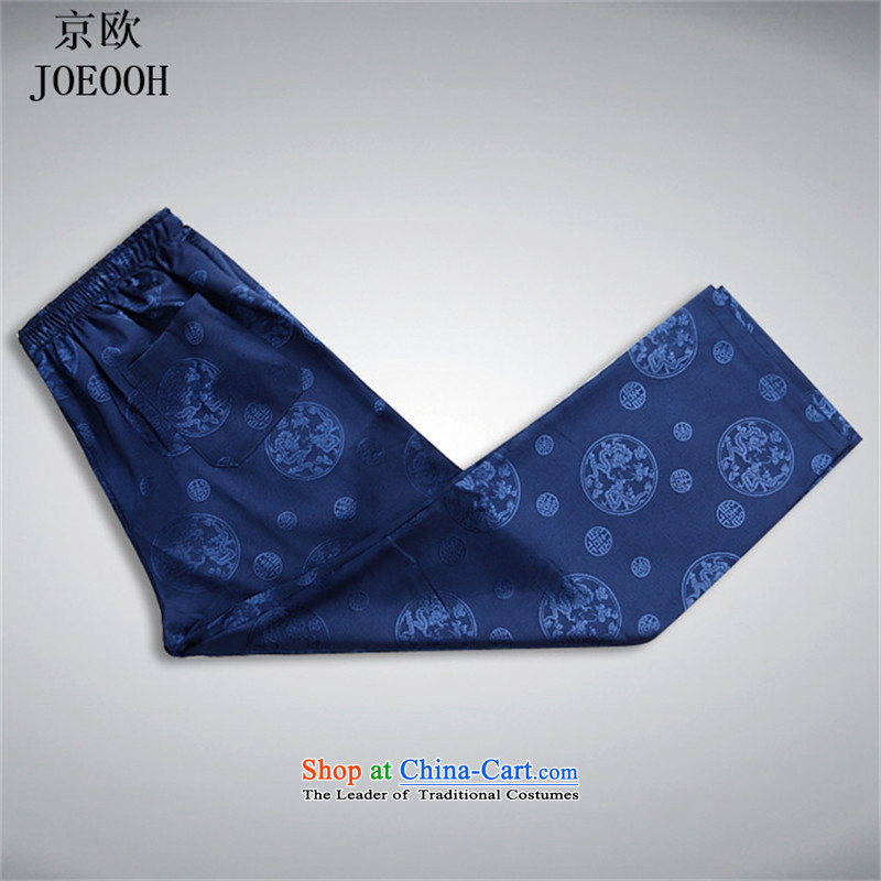 Beijing OSCE men Tang Dynasty Package men of older persons in the father of ethnic replace short-sleeved China wind and Tang dynasty blue Summer Package聽, Putin (JOE OOH) , , , shopping on the Internet