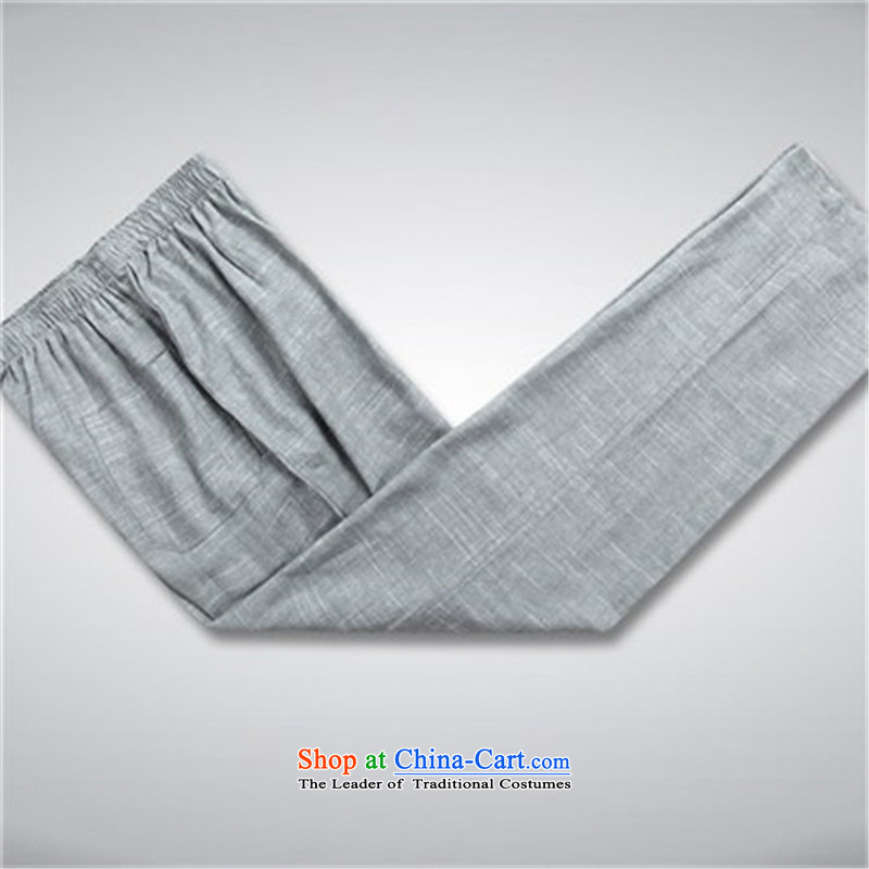 Hiv Rollet spring and summer men Tang Dynasty Package for long-sleeved older Chinese Ethnic Kit Man Kit聽, M, AIDS slate rollet (AICAROLINA) , , , shopping on the Internet