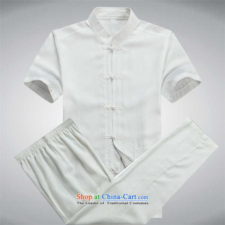 Beijing Summer linen men OSCE Tang dynasty male short-sleeve packaged in older cotton father installed China wind ball-han-white shirt XXL picture, prices, brand platters! The elections are supplied in the national character of distribution, so action, buy now enjoy more preferential! As soon as possible.