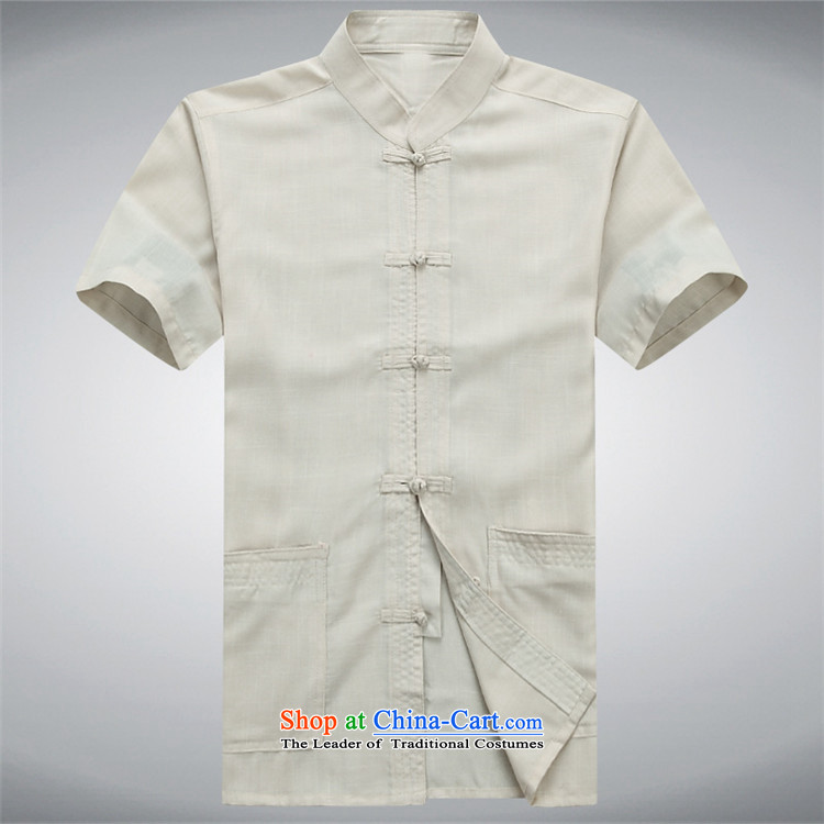 Beijing Summer linen men OSCE Tang dynasty male short-sleeve packaged in older cotton father installed China wind ball-han-white shirt聽XXL picture, prices, brand platters! The elections are supplied in the national character of distribution, so action, buy now enjoy more preferential! As soon as possible.